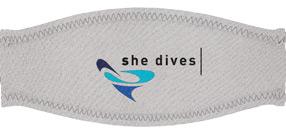 Neoprenband STRAP She-Dives