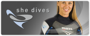 """SHORTY REEF """"SHE-DIVES"""" 2,5mm"""